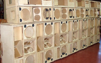 Wood-enclosures
